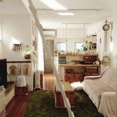 デロンギ/DIY/板壁風/handmade/green/部屋全体…などのインテリア実例 - 2014-11-14 10:37:34 | RoomClip(ルームクリップ)