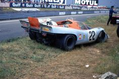 24 heures du Mans 1970 - Porsche 917K #22- Pilotes : David Hobbs / Mike Hailwood - Abandon
