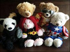 Fan blog starring teddy bear versions of the Avengers. Warning for minor…