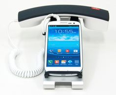 iClooly Phonestand Plus Phone Handset and Desktop Stand for iPhone, Samsung Galaxy, Samusung Note and other smartphones with 3.5 mm Headphone Jack