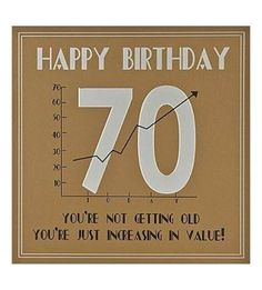 Image Result For 70th Birthday Cards Men Card