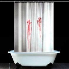 Hoy con el 60% de descuento. Llévalo por solo $56,900.Las huellas digitales de sangre cortina de la ducha Estilo.