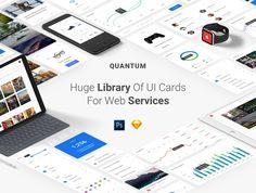 Quantum UI Kit #webdesign #graphicdesign #website #UI #UIdesign #UX #UXdesign #UIKIT #psd #design #template  http://bit.ly/2lnFQPW