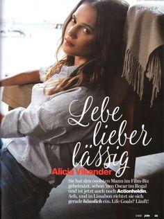 #NewPhoto ALICIA VIKANDER in Jolie Magazine, April 2018 Crediti: @hawceleb Instagram : https://www.instagram.com/alicia.vikander.my.crush/ Passate dal nostro gruppo: https://www.facebook.com/groups/171855156777005/