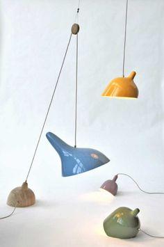 Kunst design lamper