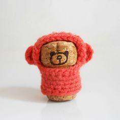 little bear- champagne cork