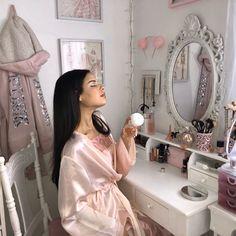Aesthetic Bedroom, Pink Aesthetic, Vintage Princess, Pink Princess Room, Cute Room Decor, Princess Aesthetic, Beauty Room, My New Room, Girly Girl