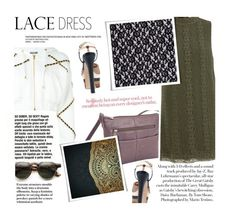 """""""Lace Dress"""" by zayngirl1dlove ❤ liked on Polyvore featuring Moschino, Gucci and Royce Leather"""