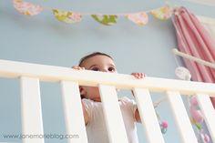 happy nursery bunting banner