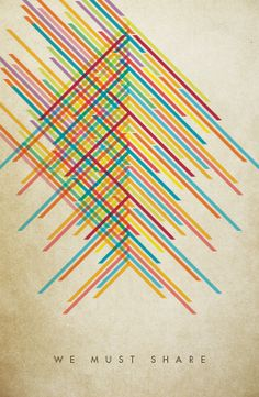 Collaborate Not Compete by Cody Small, via Behance