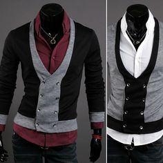 HAPPYMORI Mens Stylish Cardigan Sweater Jacket Jumper H208 s M | eBay