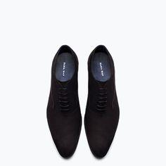 INGLÉS SOFT NOBUK-Zapatos-Zapatos-HOMBRE | ZARA Guatemala