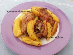 Pollo+e+patate+al+forno