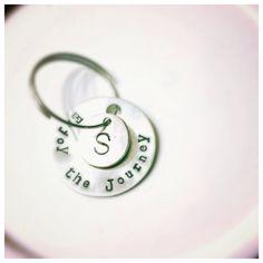 SALE!! Graduation gift- Enjoy the Journey Personalized Keychain on Etsy, $16.49