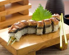 Unagi Roll for a quick lunch at your nearest SushiGroove