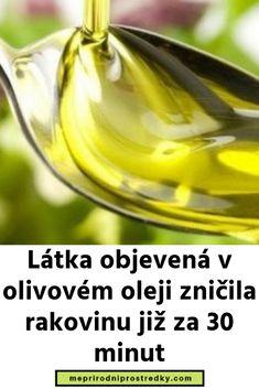 Látka objevená v olivovém oleji zničila rakovinu již za 30 minut Karma, 30th, Diabetes, Fitness, Biology, Keep Fit, Health Fitness, Rogue Fitness, Gymnastics
