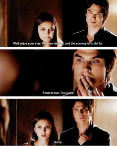 elena and damon one of my all time fav damon moments