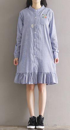 Women loose fit plus over size dress cartoon red fox skirt ruffles hem fashion | Clothing, Shoes & Accessories, Women's Clothing, Dresses | eBay!