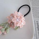 桜ヘアゴム:ピンク