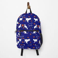Muster für Katzenbesitzer und Katzenliebhaber mit kleinen Kätzchen und Herz. Über so ein Geschenk freut sich jeder Katzenfreund. Vera Bradley Backpack, Fashion Backpack, Backpacks, Bags, Gifts For Cat Lovers, Heart, Patterns, Handbags, Backpack
