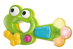 BKids Funky Froggy Guitar by BKids. $21.98. Lights up with each sound. Simple to use. Excellent shape for young hands. Trigger the fun music and sound effects by spinning froggy's eyes, pulling down froggy's hand, or bypressing the large button. A 3-way mode selector also gives you multiple options for play.