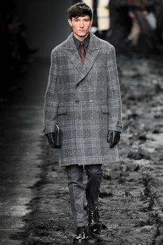 Fendi Fall 2014 Menswear Collection Slideshow on Style.com