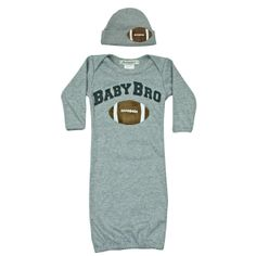 Jannuzzi Baby Bro Football take Home gown.
