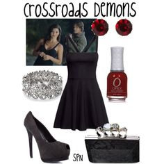 """Crossroads Demons"" by evil-laugh on Polyvore"