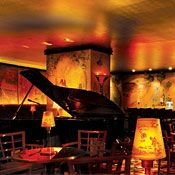 Bemelmans Bar - A timeless upscale New York bar located in the legendary Carlyle Hotel. You'll feel like you've walked into the jazz era of the 1920s...very classy and elegant. (Hotel Bar/Elegant/Upper East Side)