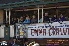 21st Running of the Coffins  Emma Crawford Festival, Coffin Races.  Even though Emma Crawford rode the run off down the streets.  Teams push a coffin of their own designs, uphill with a body in it, preferably alive.  Before the races begin ghouls, witches and the sort mingle.  From mingling a parade forms on main street of old hearse's follow the race route.    #‎Women‬ everywhere looking for the ‪#‎Ghoul‬ of their ‪#‎Dreams‬ http://trailofhighways.com/travelers-market/