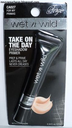Nouveau Cheap: Review: Wet n Wild Fergie Take On The Day Eyeshadow Primer