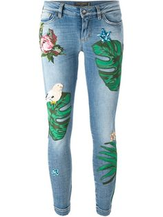 Dolce & Gabbana patch jeans                                                                                                                                                                                 More