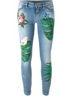 Shoppen Dolce & Gabbana Bestickte Skinny-Jeans von Torregrossa aus den weltbesten Boutiquen bei farfetch.com/de. In 400 Boutiquen an einer Adresse shoppen.