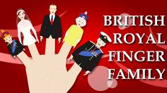British Royal Finger Family | Finger Family Rhymes | Royal Baby