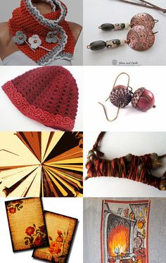 Autumn Leaves by Dix Cutler on Etsy--Pinned with TreasuryPin.com