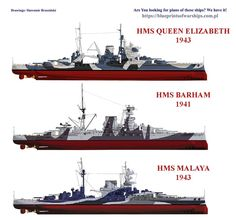 HSM Queen Elizabeth, Malaya e Bahram