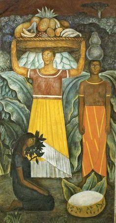 Tehuana Women by: Diego Rivera