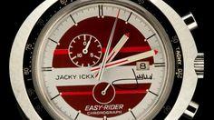 The rare Heuer Leonidas Easy Rider chronograph