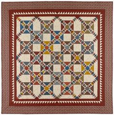 Kennesaw Mountain Patternhttp://www.redcrinolinequilts.com/shop/Patterns/p/Kennesaw-Mountain-Pattern--sku-BBQ020.htm