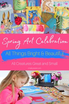 Spring Art Celebration with Chalk Pastels - You ARE an ARTiST! Turtle Pond, Seal Pup, Spring Tree, Art Curriculum, Unique Paintings, Rainbow Trout, Baby Chicks, Chalk Pastels, World Of Color