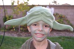 yoda costume - for Caeden
