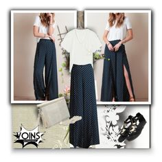"""Yoins com 4/17"" by jnatasa ❤ liked on Polyvore featuring Fornasetti, Christian Lacroix, Élitis, women's clothing, women, female, woman, misses, juniors and PolkaDots"