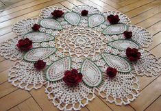 With more than 100 free crochet doily patterns to make you will never be bored! Traditional lace doilies, round doilies, oval doilies and more! Crochet Doily Patterns, Thread Crochet, Crochet Stitches, Crochet Hooks, Knit Crochet, Knitting Patterns, Beau Crochet, Irish Crochet, Crochet Dollies