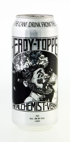 The Alchemist Heady Topper Beer (Tried it at El Cortijo in Burlington, VT this past Summer. It is an AMAZING beer!)