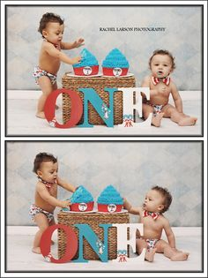 D and M turn 1 year old Massachusetts first birthday cake smash