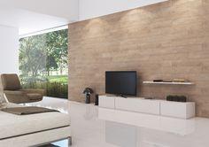 A linha Laminata apropria-se da tecnologia digital e apresenta a natureza da madeira em grafica leve e tons neutros. Uma peça fundamental para ambientes versáteis e eficientes. A espessura Slim e textura acetinada trazem facilidade de assentamento e manutenção.