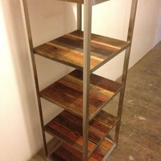 """I like the frame, the wood, the color.  Just needs to be 79.5"""" in length, and 48"""" in height (maybe only four shelves instead of five.)"""