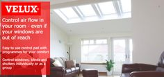 Save money on your new VELUX INTEGRA remote controlled windows by shopping at Sterlingbuild.