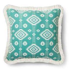 Blue Aqua Global Throw Pillow - Threshold™