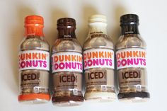 Dunkin' Donuts' New Bottled Iced Coffees Are Here, and We Are Pumped